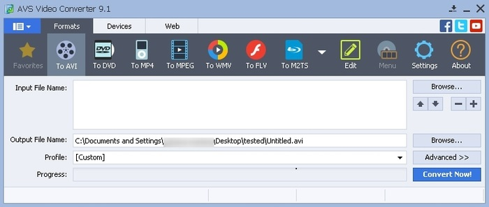 AVS Video Converter Free Download With Crack Latest Version