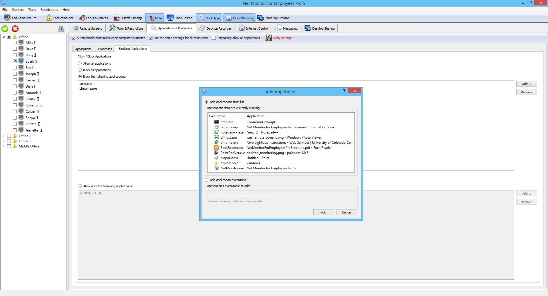 Network LookOut Administrator Pro v4.2.2
