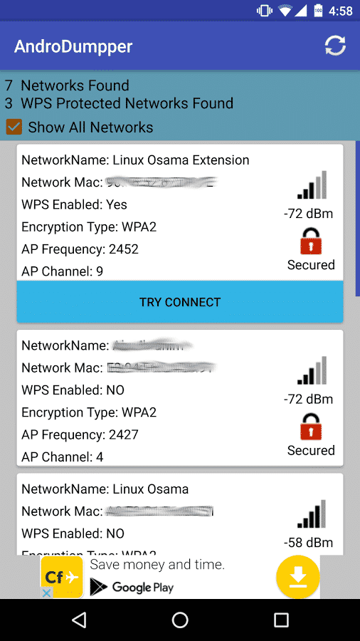 AndroDumpper WPS Connect v APK For Android