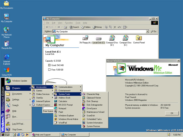 Windows Me Bootable ISO Final Full Version