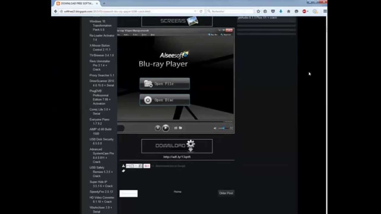 Aiseesoft Bluray Player 6.6.18 Fix  Free Download