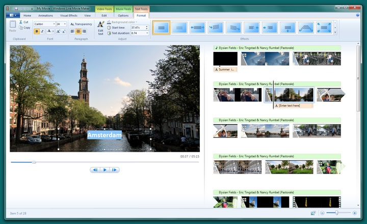 Windows Live Movie Maker Free Download For PC