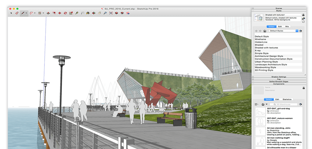 Sketchup pro 2018 For Mac OS Free download